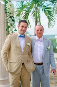 Vestidos de lino para boda en jardin